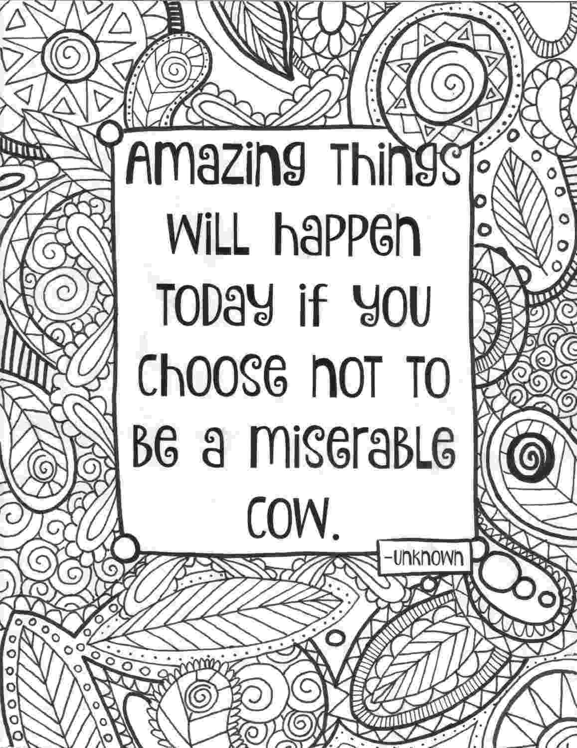 quote about coloring books 12 inspiring quote coloring pages for adultsfree quote coloring books about