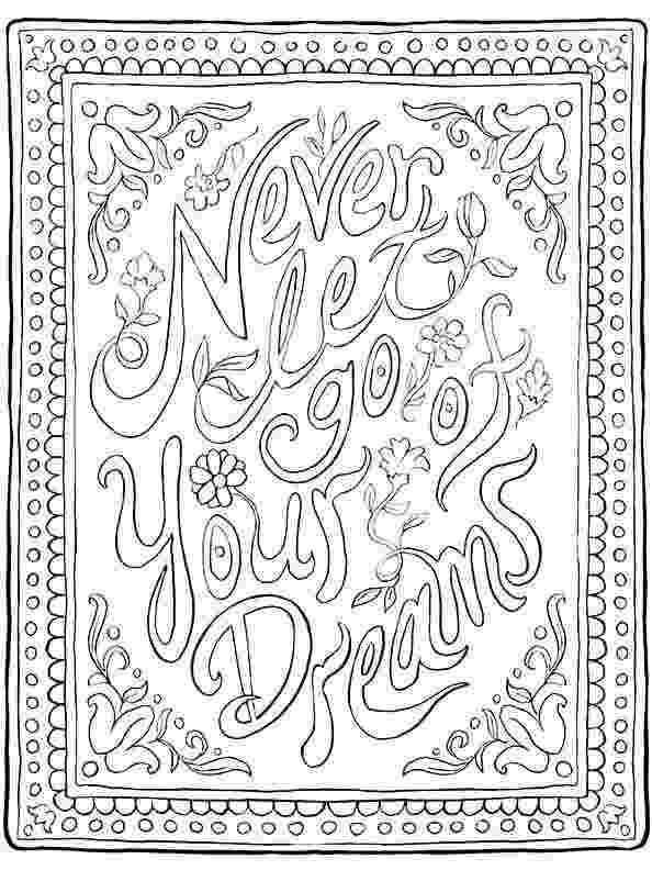 quote about coloring books free coloring book pages for grown ups inspiring quotes quote coloring books about