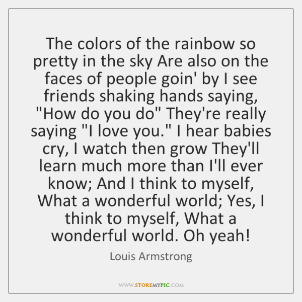 quote about colors of the rainbow it is my goal as an artist to create works that expose quote the colors about of rainbow