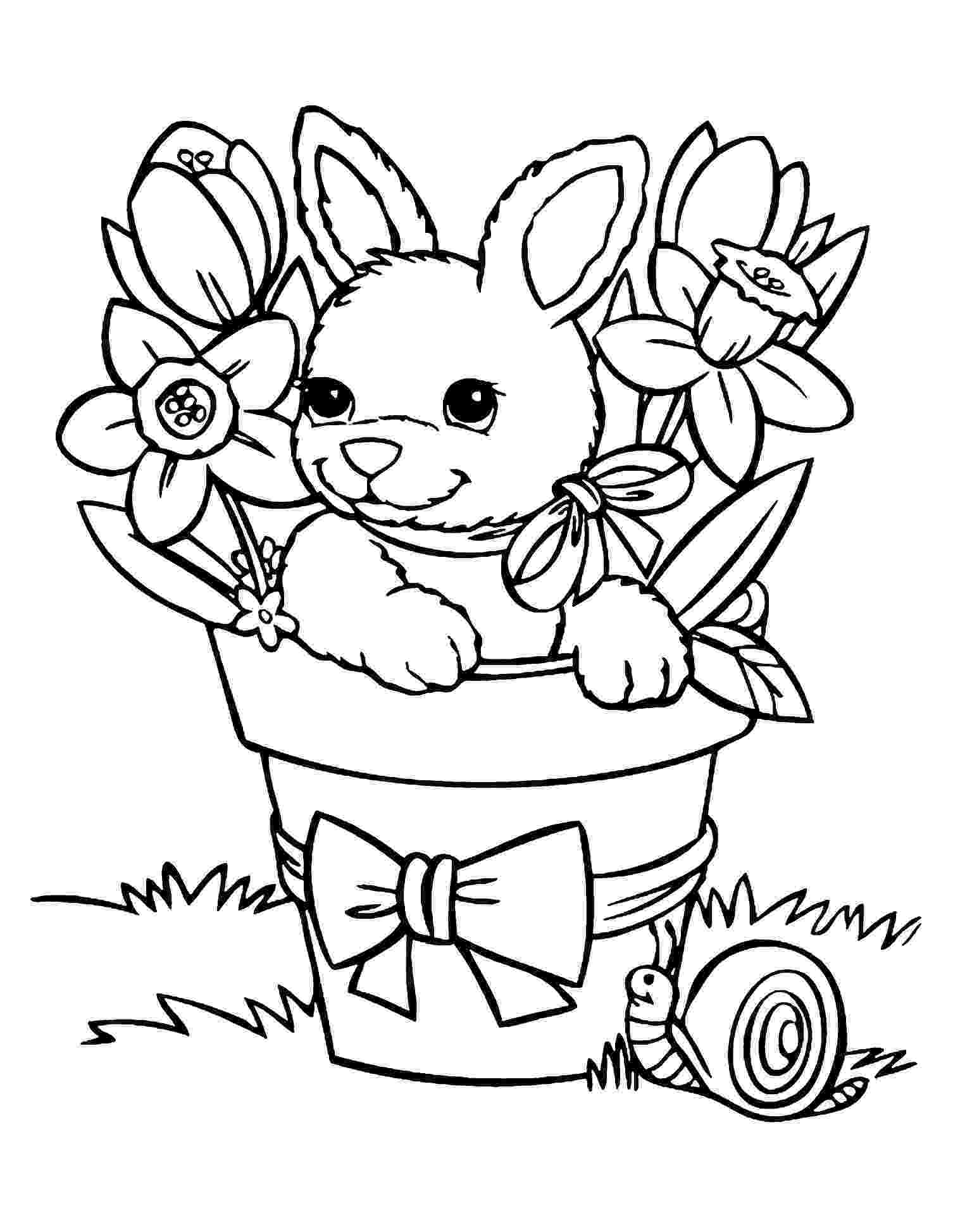 rabbit coloring pictures free printable rabbit coloring pages for kids coloring pictures rabbit