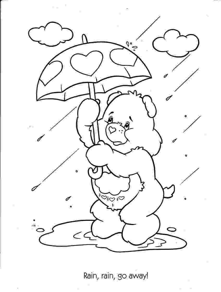 rain coloring page 16 best images about story time rain on pinterest rain coloring page rain