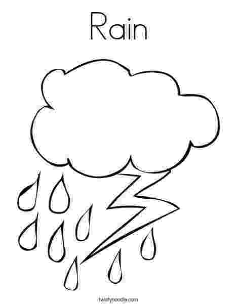rain coloring page 35 free printable rainy day coloring pages rain page coloring