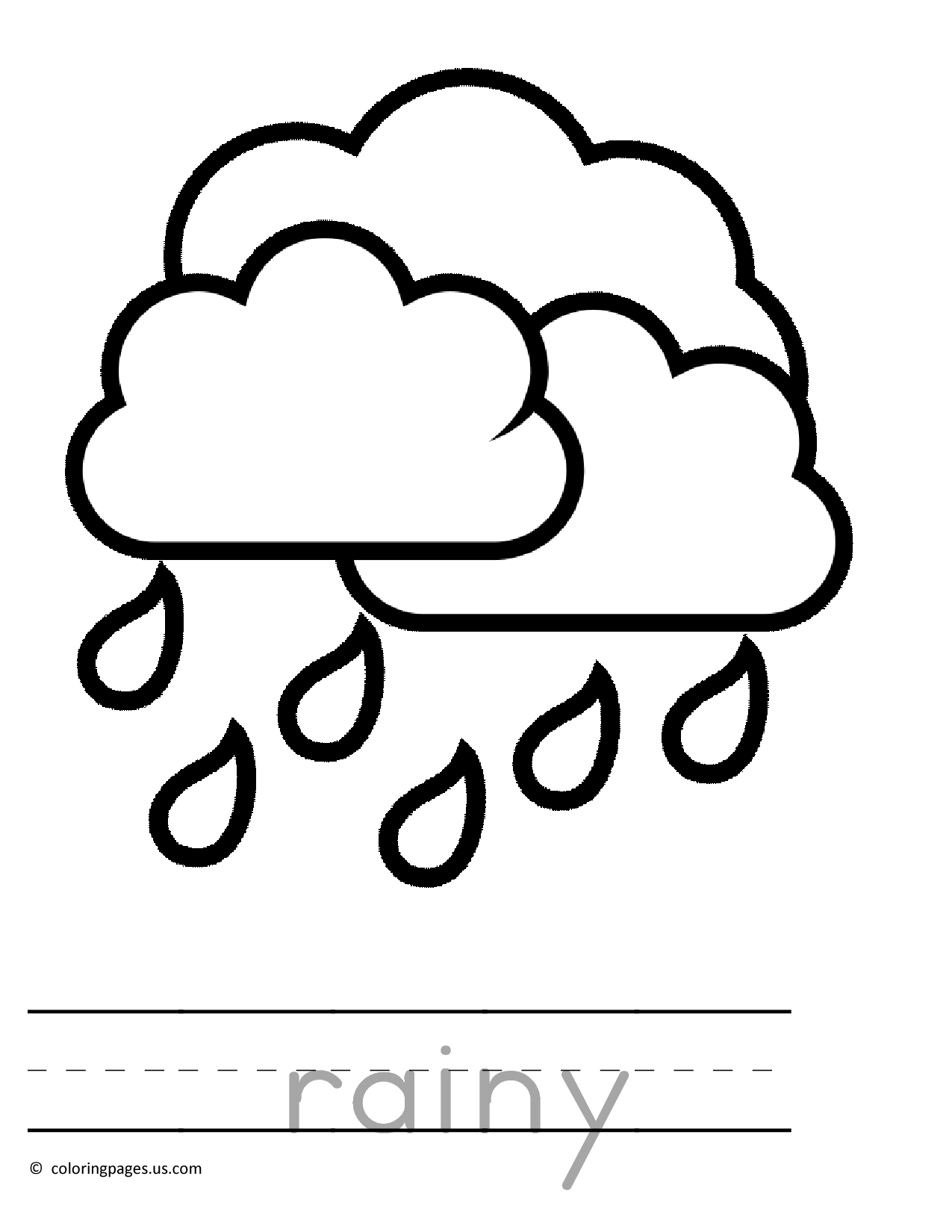 rain coloring page mickey mouse in the rain coloring pages hellokidscom rain page coloring
