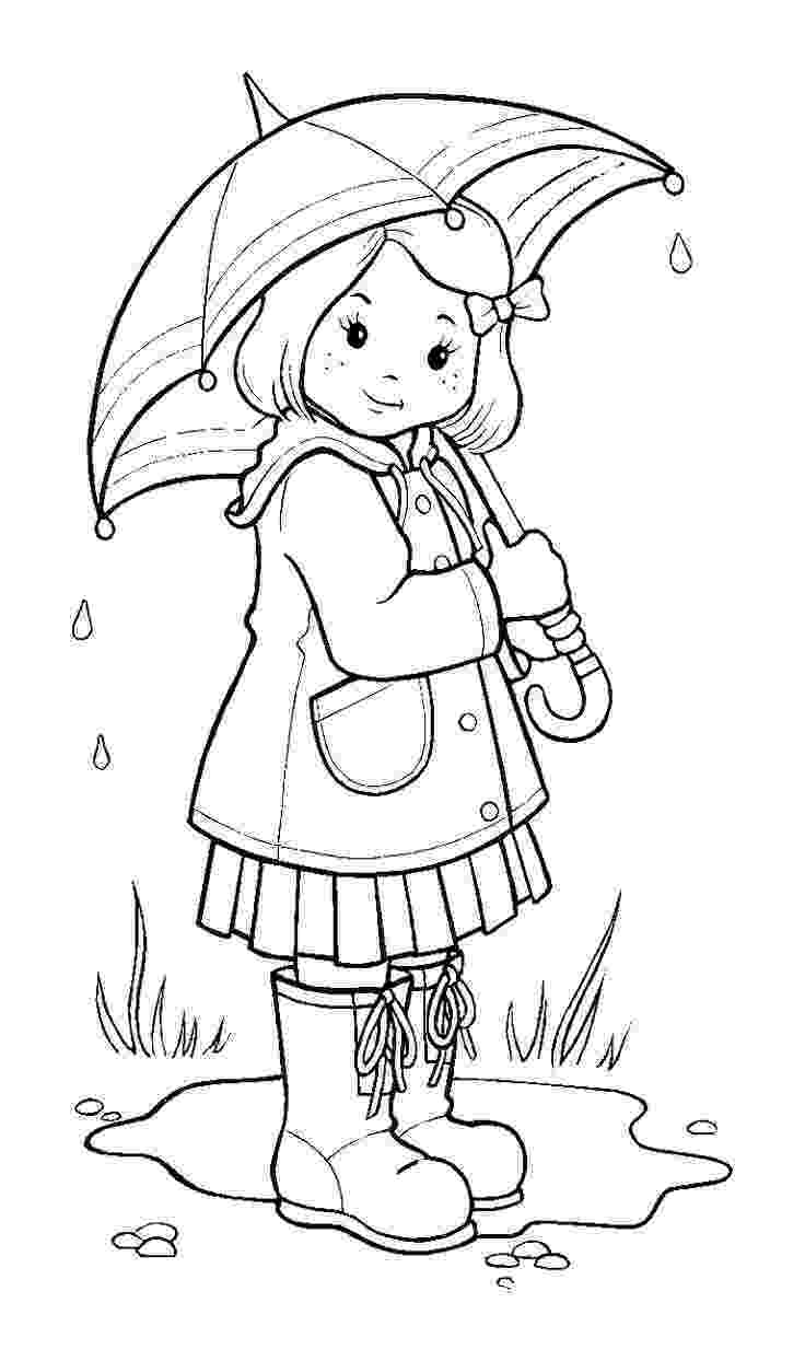 rain coloring page rain cloud coloring page book for kids page coloring rain