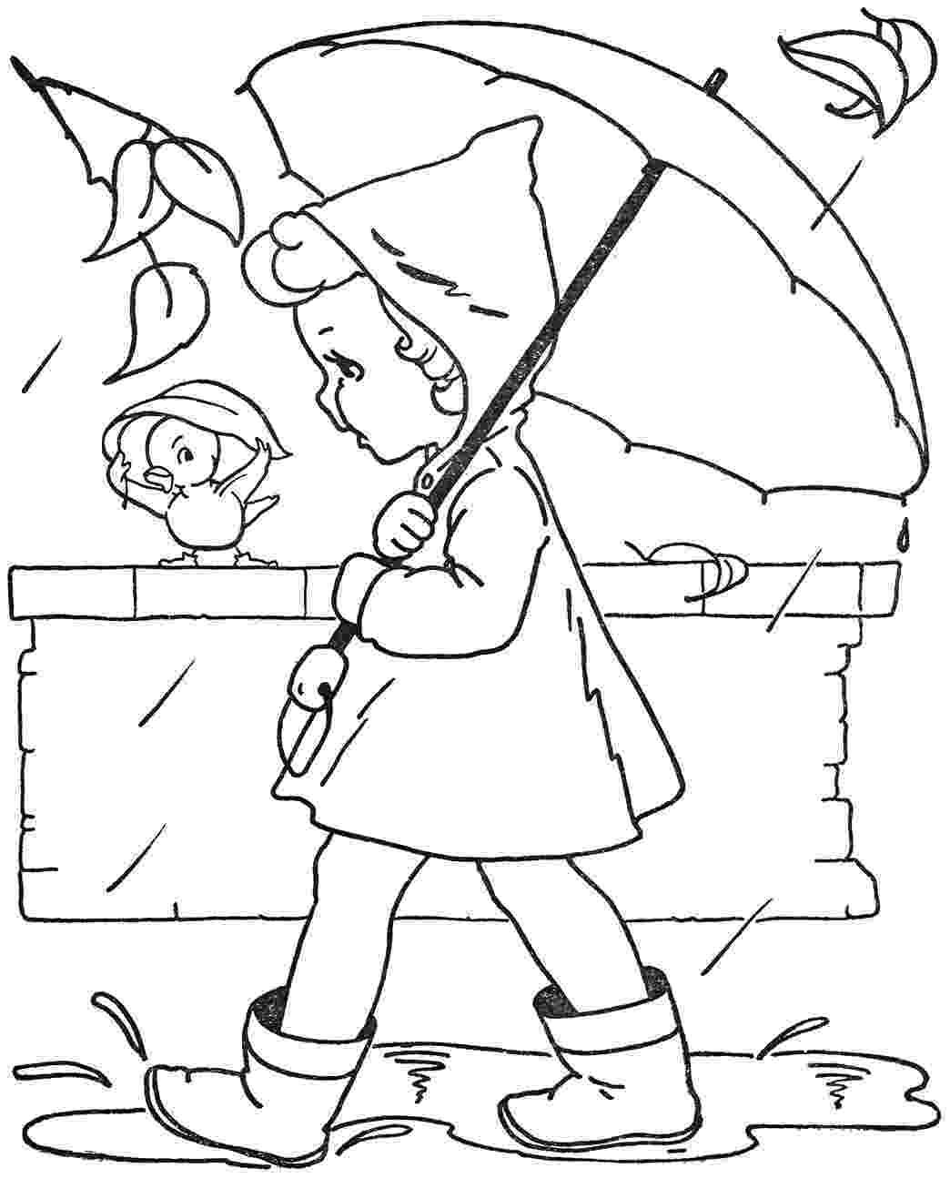 rain coloring page rain coloring page coloring home coloring rain page 1 1