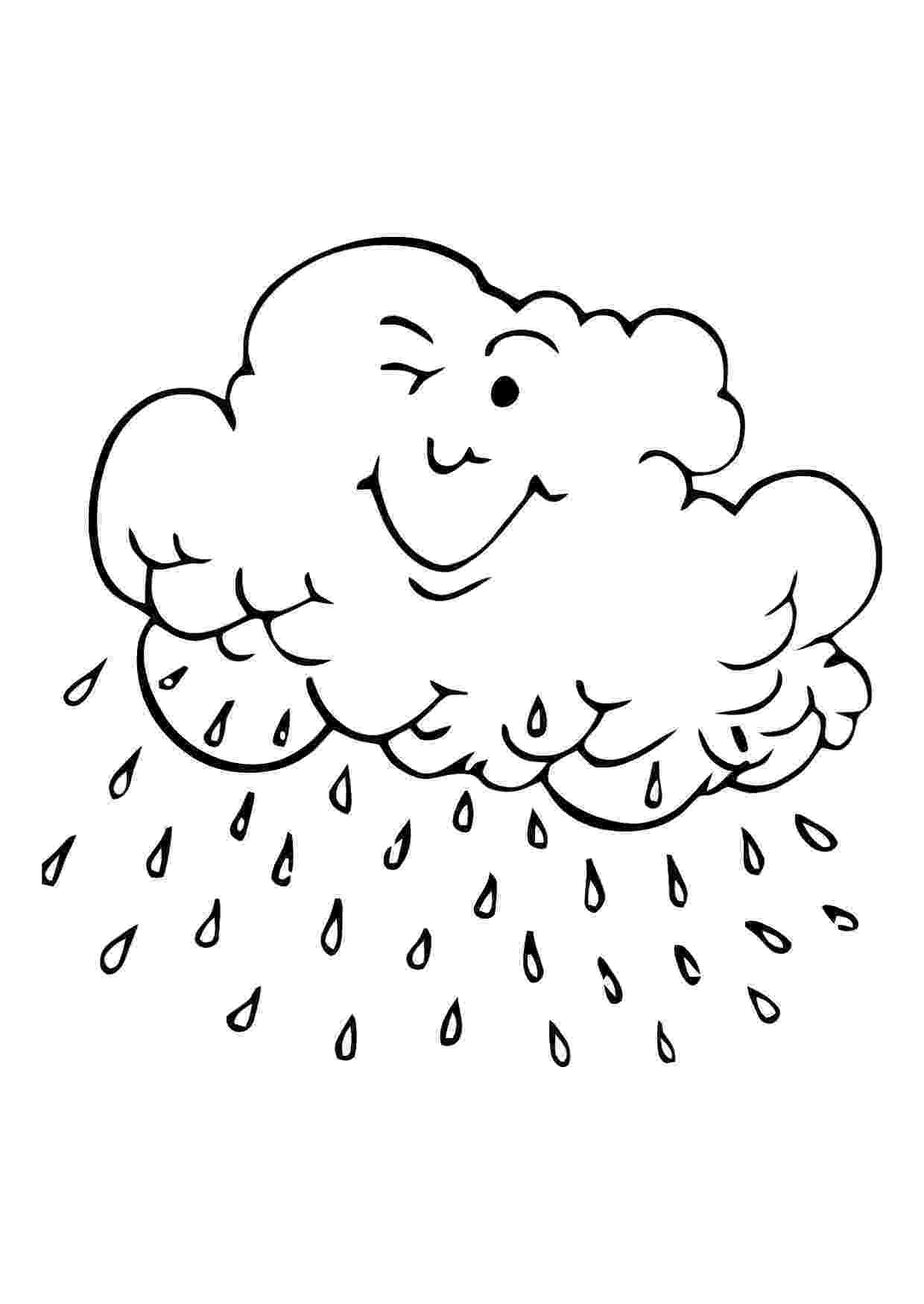 rain coloring page rain coloring pages best coloring pages for kids rain page coloring