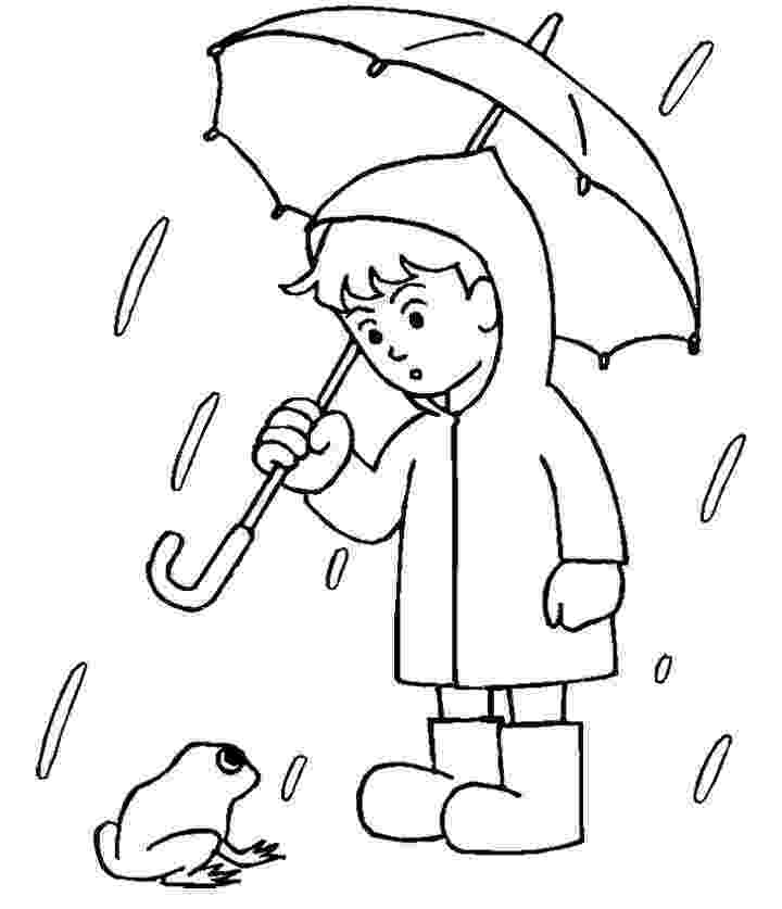 rain coloring page rain coloring pages coloring pages to download and print rain coloring page