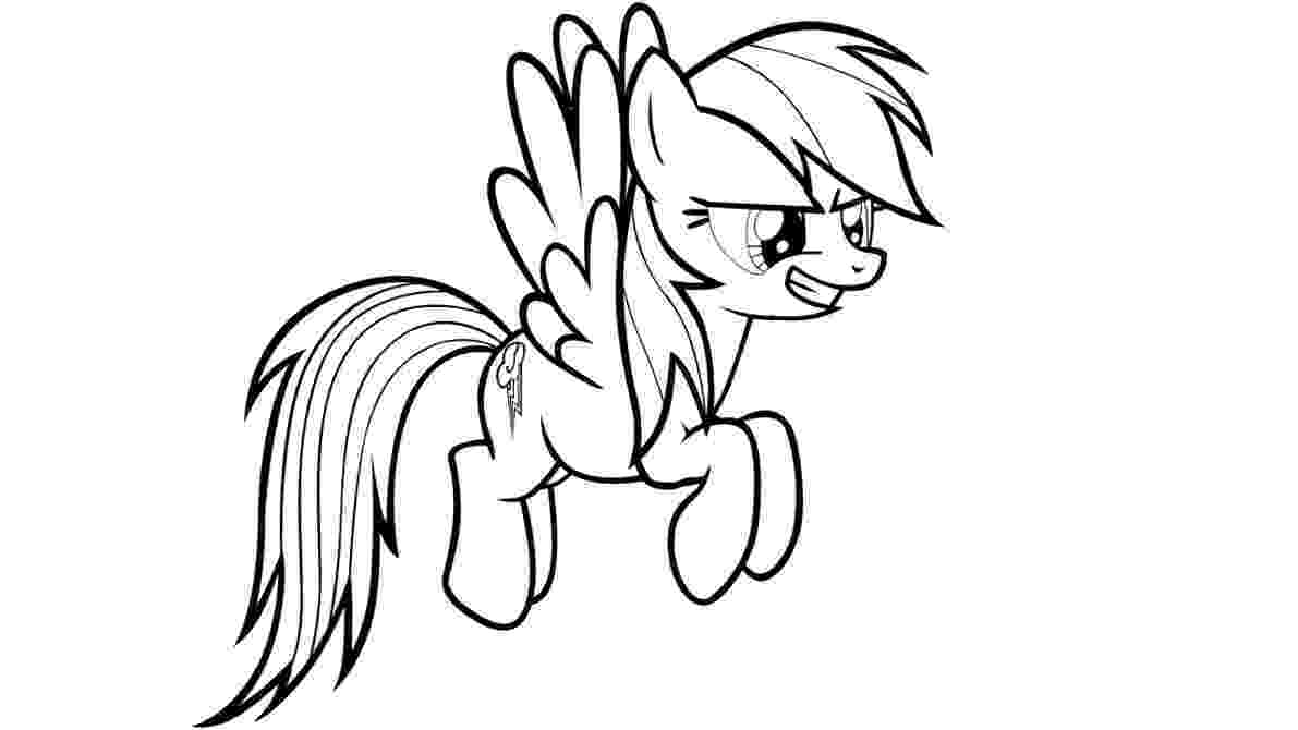 rainbow dash pictures to color free printable my little pony coloring pages for kids color dash rainbow to pictures