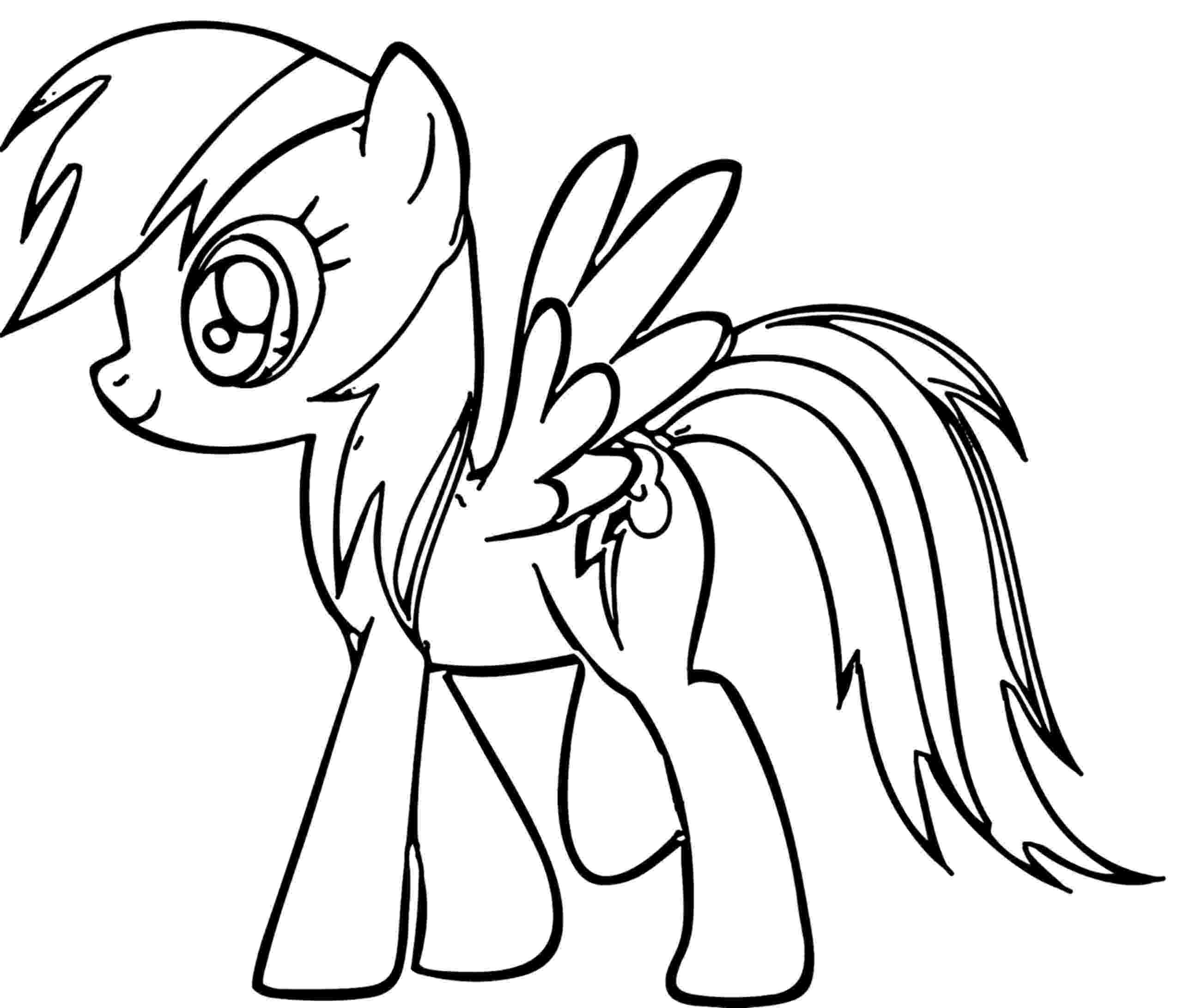 rainbow dash pictures to color rainbow dash coloring page free download on clipartmag dash to pictures color rainbow