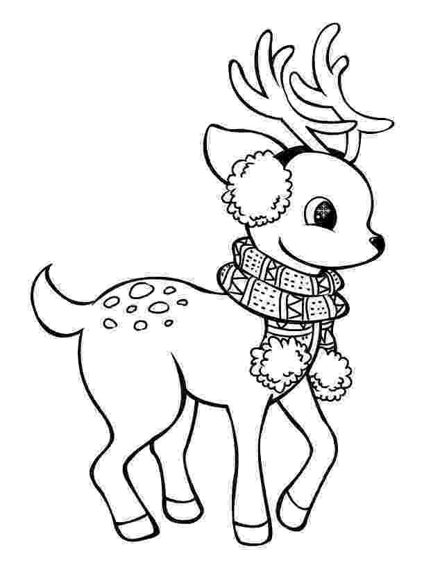 raindeer sketch reindeer caribou coloring page free printable coloring pages raindeer sketch