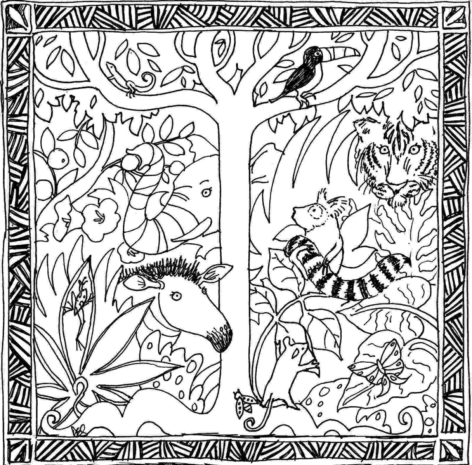 rainforest coloring pages rainforest coloring pages coloring pages to print coloring pages rainforest