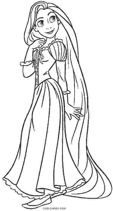rapunzel pictures to print and colour free printable rapunzel coloring pages for kids cool2bkids colour rapunzel print pictures to and