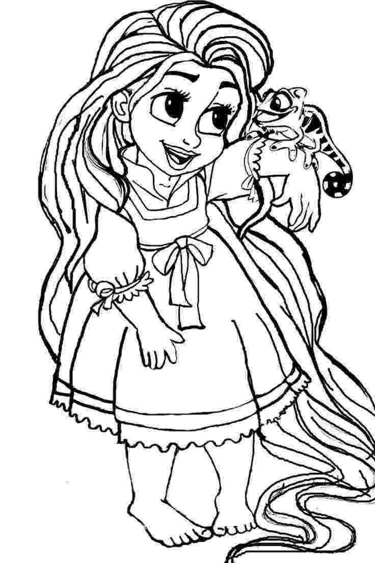 rapunzel pictures to print and colour free printable tangled coloring pages for kids print colour and pictures rapunzel to