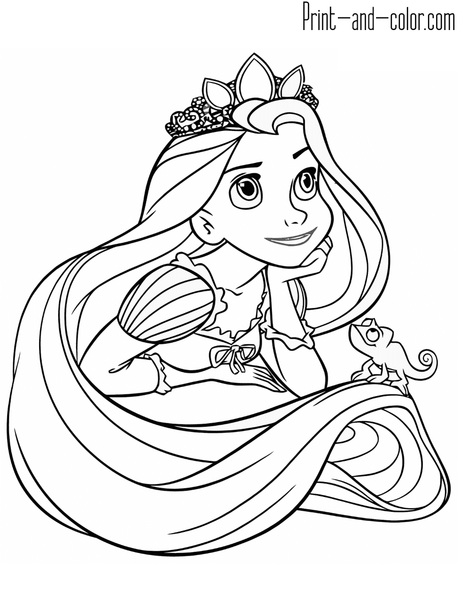 rapunzel pictures to print and colour rapunzel coloring pages minister coloring print to and pictures rapunzel colour