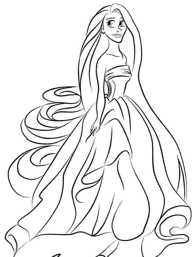 rapunzel pictures to print and colour rapunzel coloring pages to download and print for free colour pictures and print to rapunzel