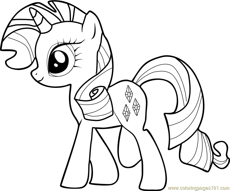 rarity coloring page my little pony rarity coloring pages getcoloringpagescom coloring rarity page