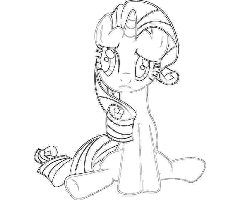 rarity coloring page pin up girl coloring pages clipartsco rarity coloring page