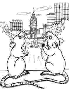 rat pictures to color rat printable coloring pages to pictures rat color