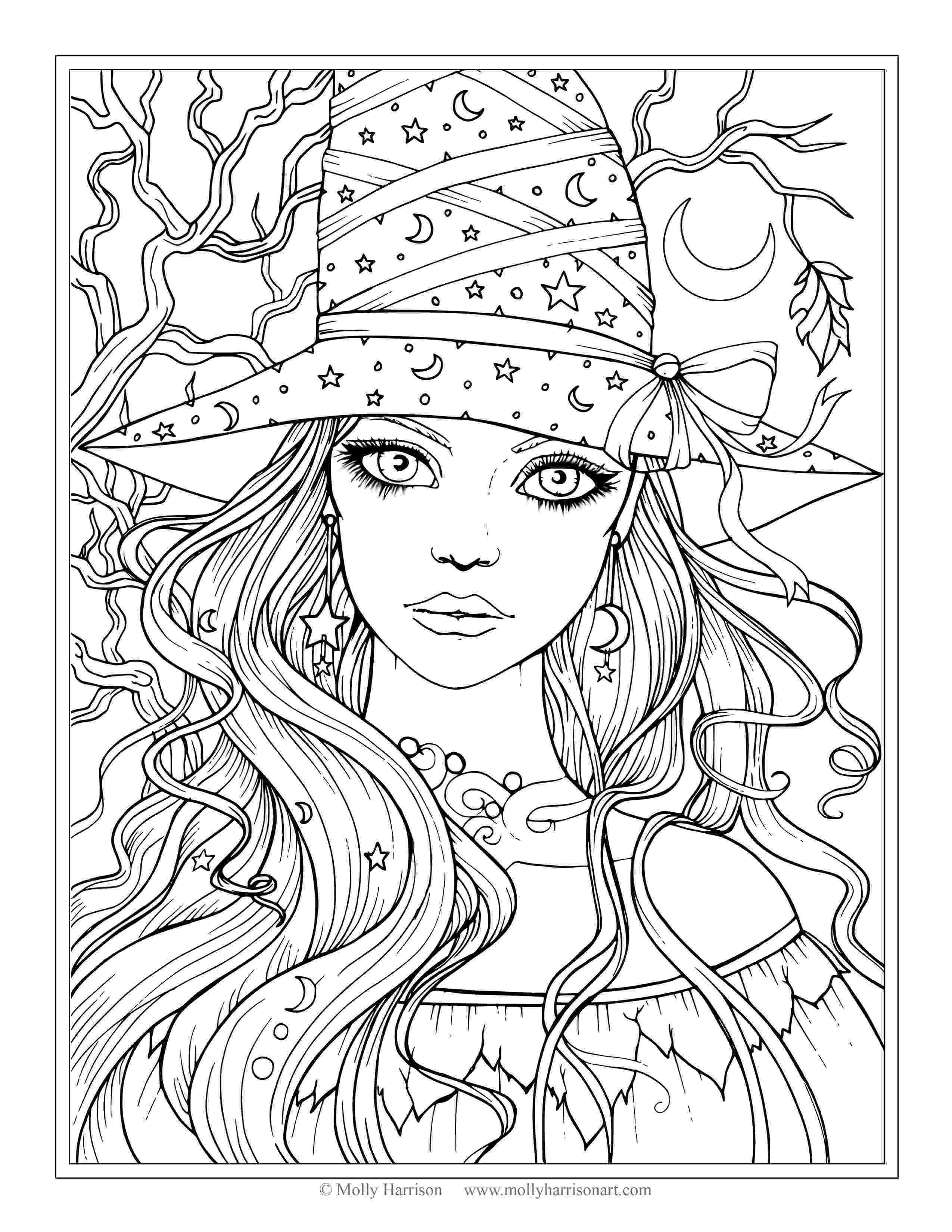 realistic coloring realistic fairy coloring pages for adults google search realistic coloring