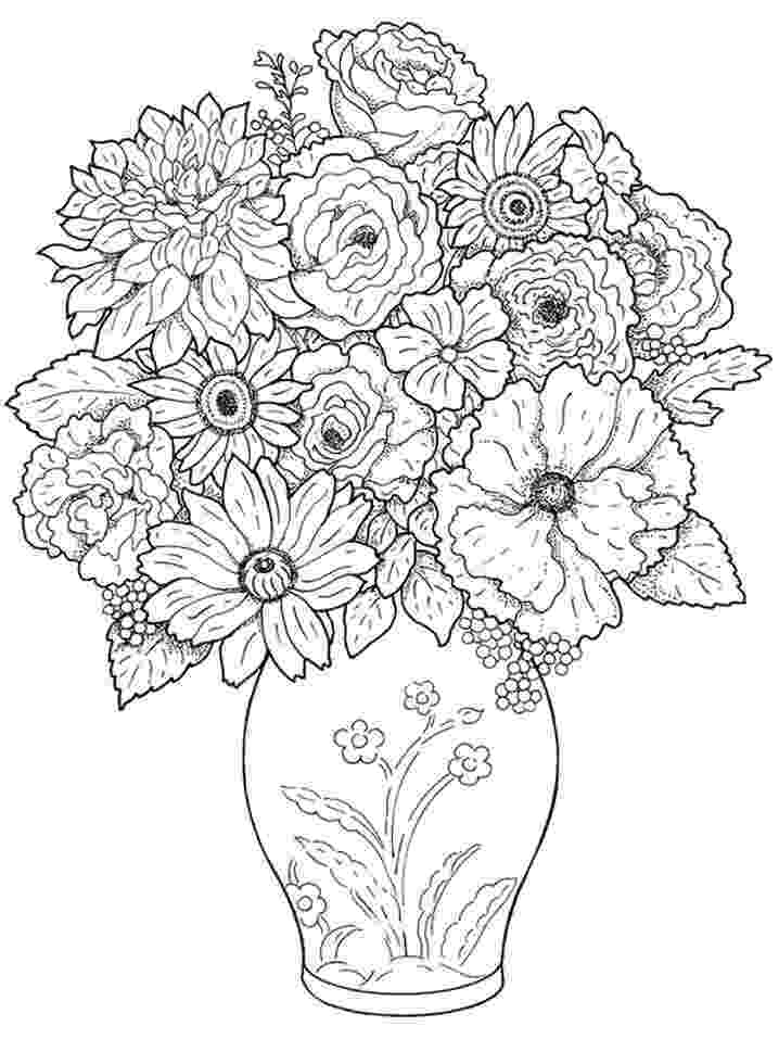 realistic flower coloring pages realistic coloring pages for adults at getcoloringscom coloring realistic pages flower