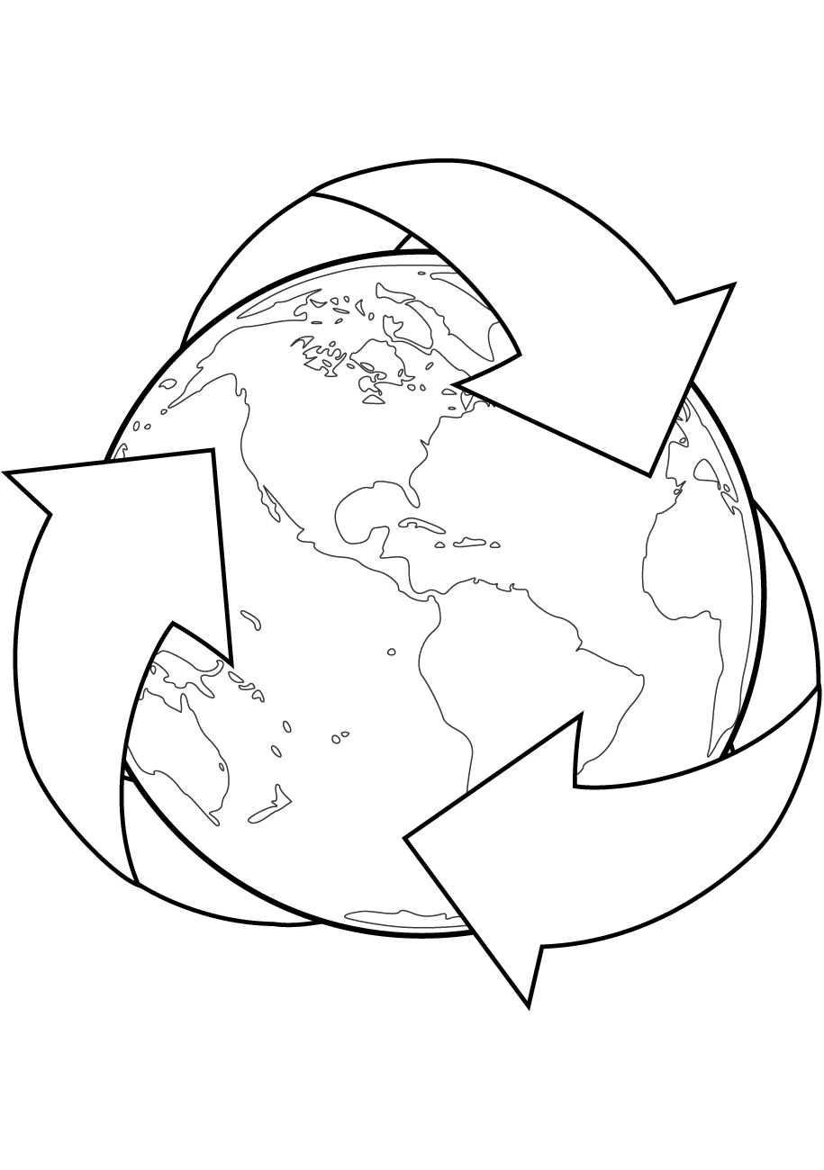 recycling coloring pages printable recycling coloring pages at getcoloringscom free recycling coloring pages printable