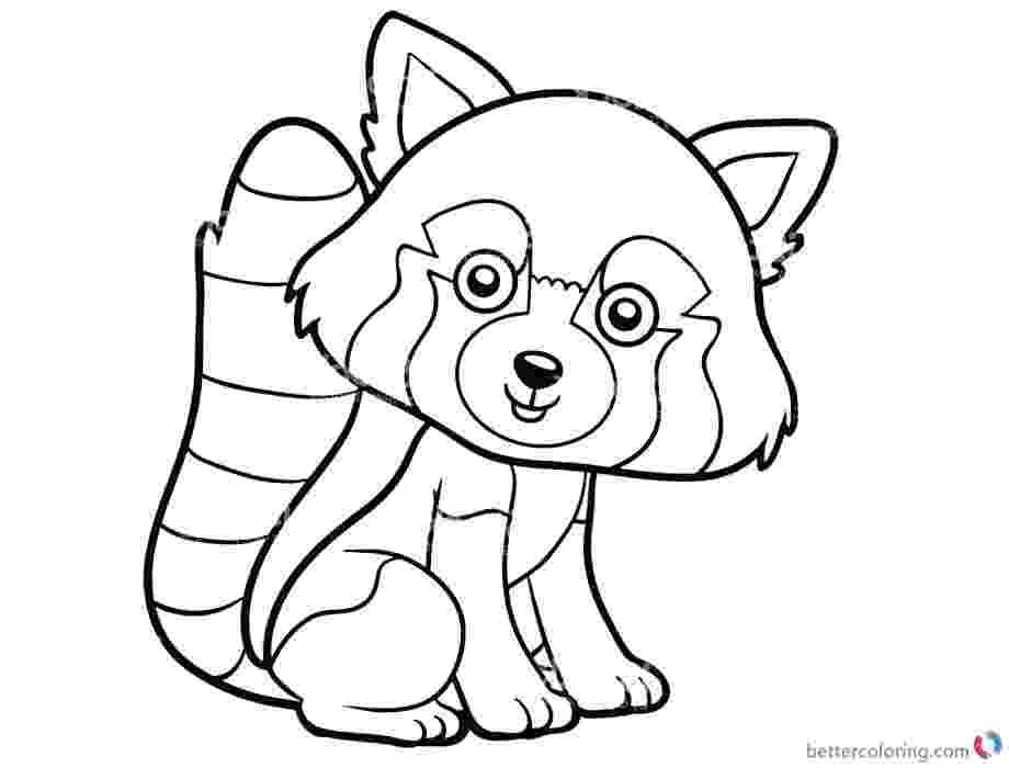 red panda coloring pages webkinz red panda coloring page free printable coloring panda red pages coloring