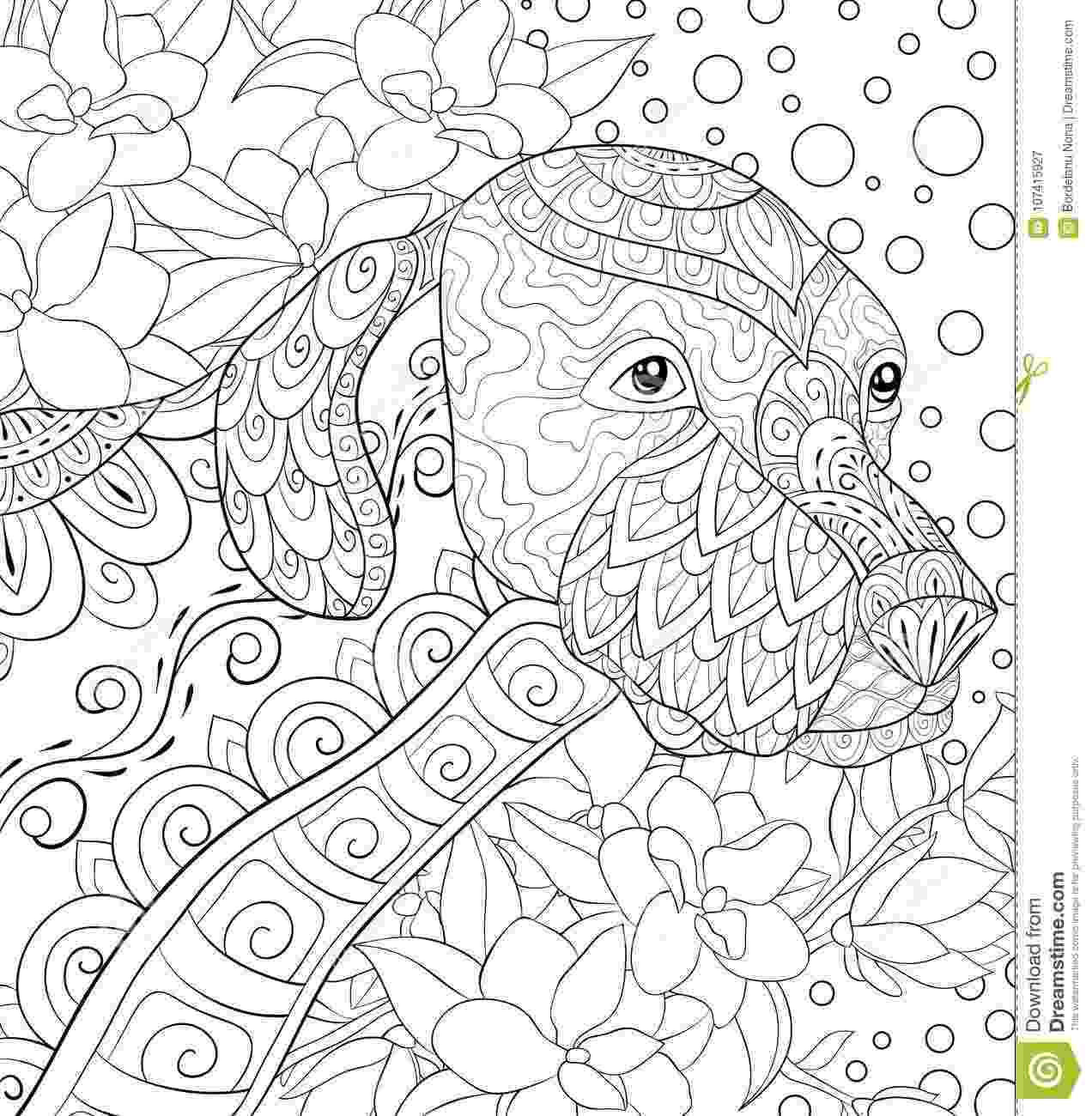 relaxing coloring pages adult coloring page mandala stock vector illustration coloring relaxing pages