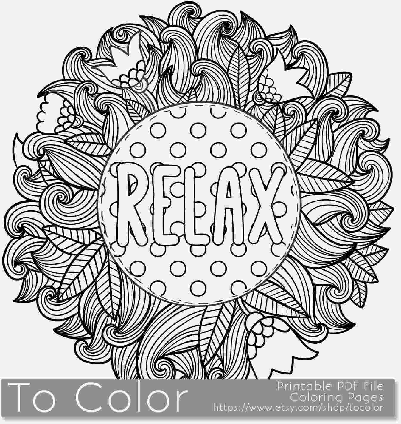 relaxing coloring pages adult coloring pages coloring pages cool coloring pages pages coloring relaxing