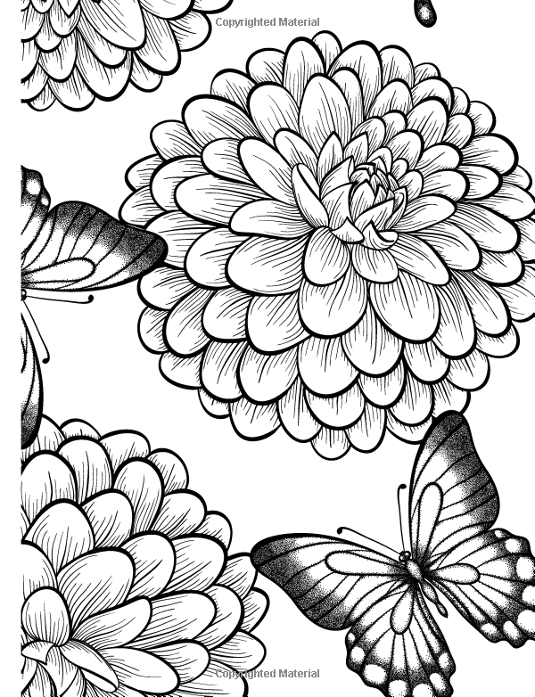 relaxing coloring pages amazoncom really relaxing colouring book 3 botanicals coloring pages relaxing