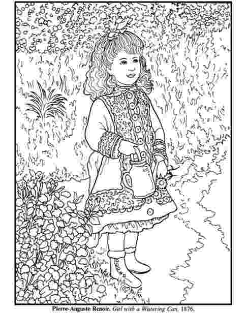 renoir coloring pages dover samplers 17 feb 2017 renoir coloring pages