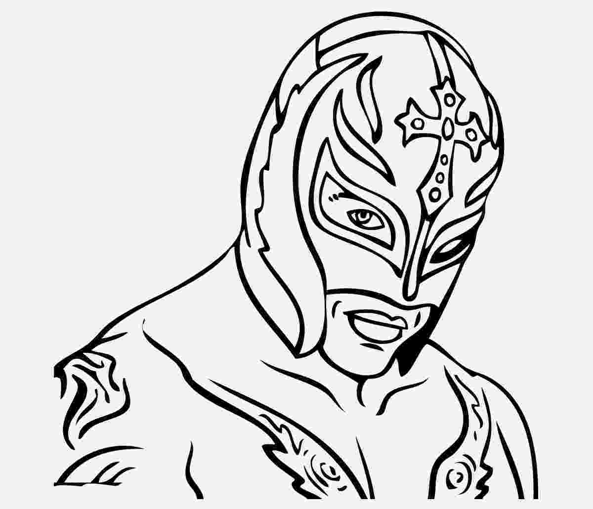 rey mysterio coloring pages rey coloring page at getcoloringscom free printable coloring mysterio rey pages
