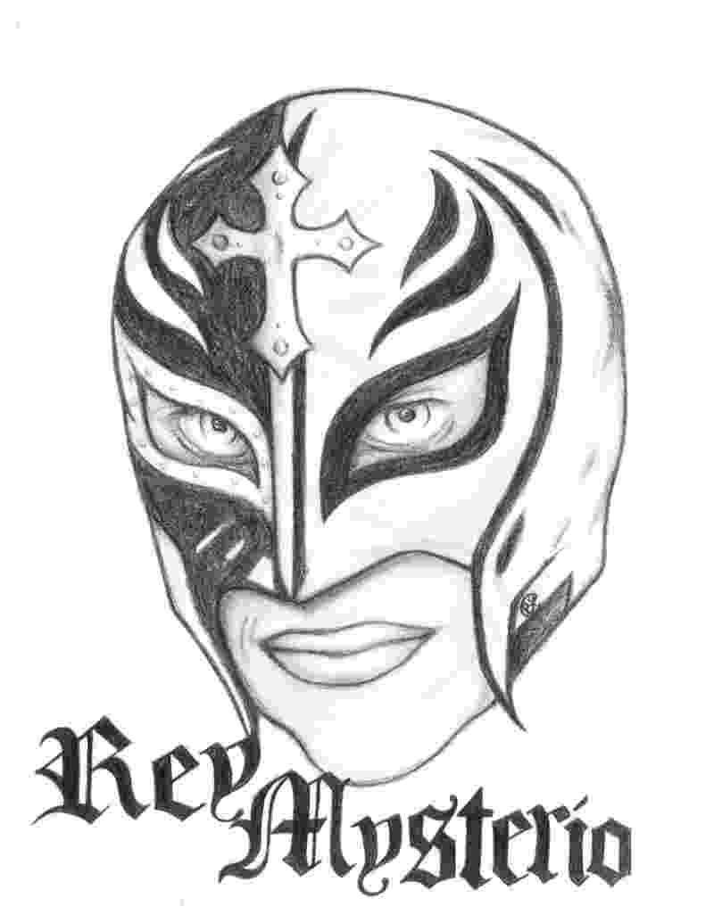 rey mysterio coloring pages rey mysterio drawing at getdrawingscom free for pages mysterio coloring rey