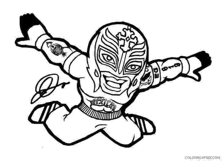 rey mysterio coloring pages wwe rey mysterio coloring pages for kids coloring4free pages coloring mysterio rey
