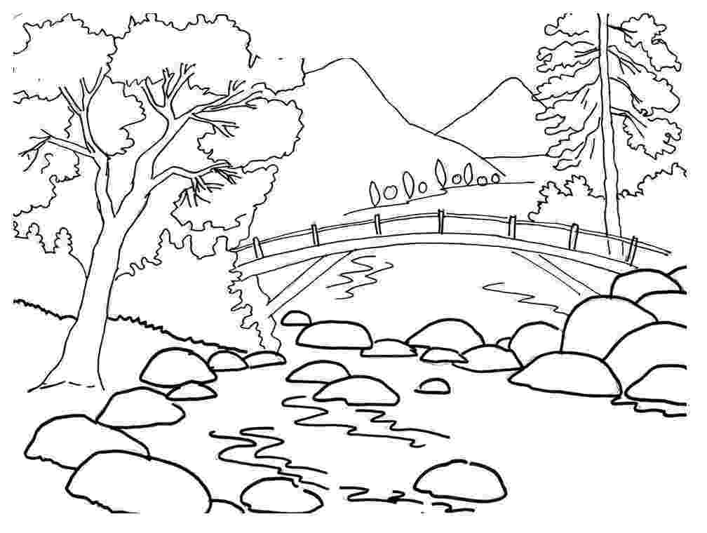 river coloring pages printable free printable coloring pages for girls pages coloring river printable