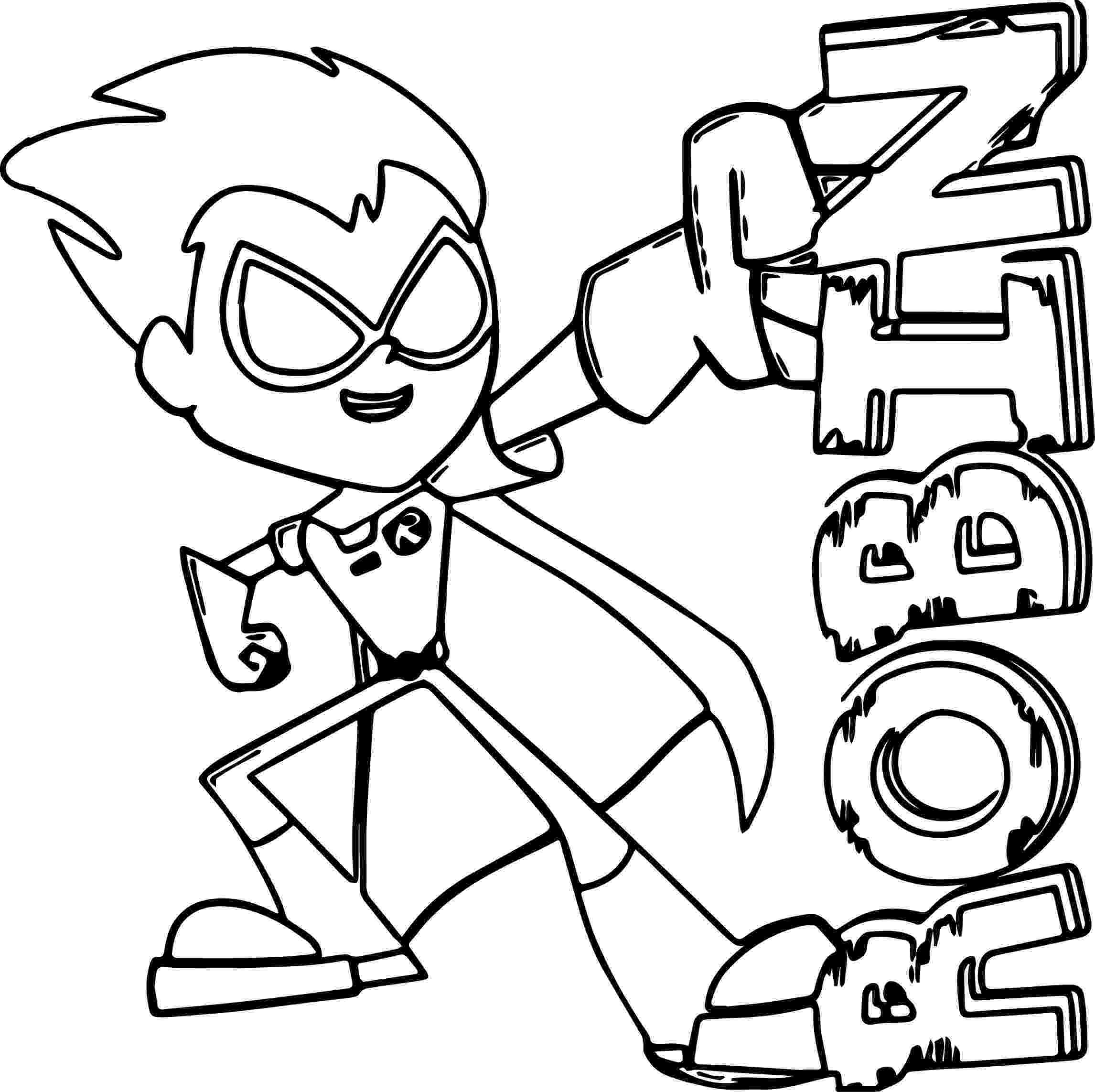 robin colouring teen titans coloring pages best coloring pages for kids colouring robin