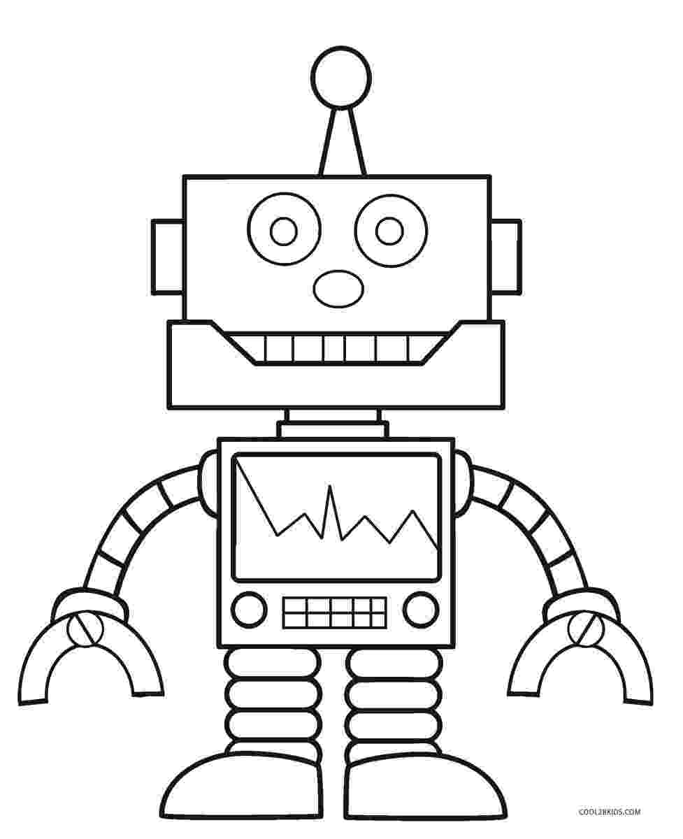 robot coloring pages free printable robot coloring pages for kids cool2bkids coloring robot pages