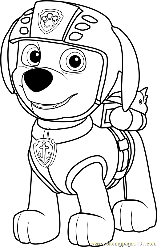 rocky from paw patrol paw patrol rocky and marshall coloring page free rocky patrol paw from