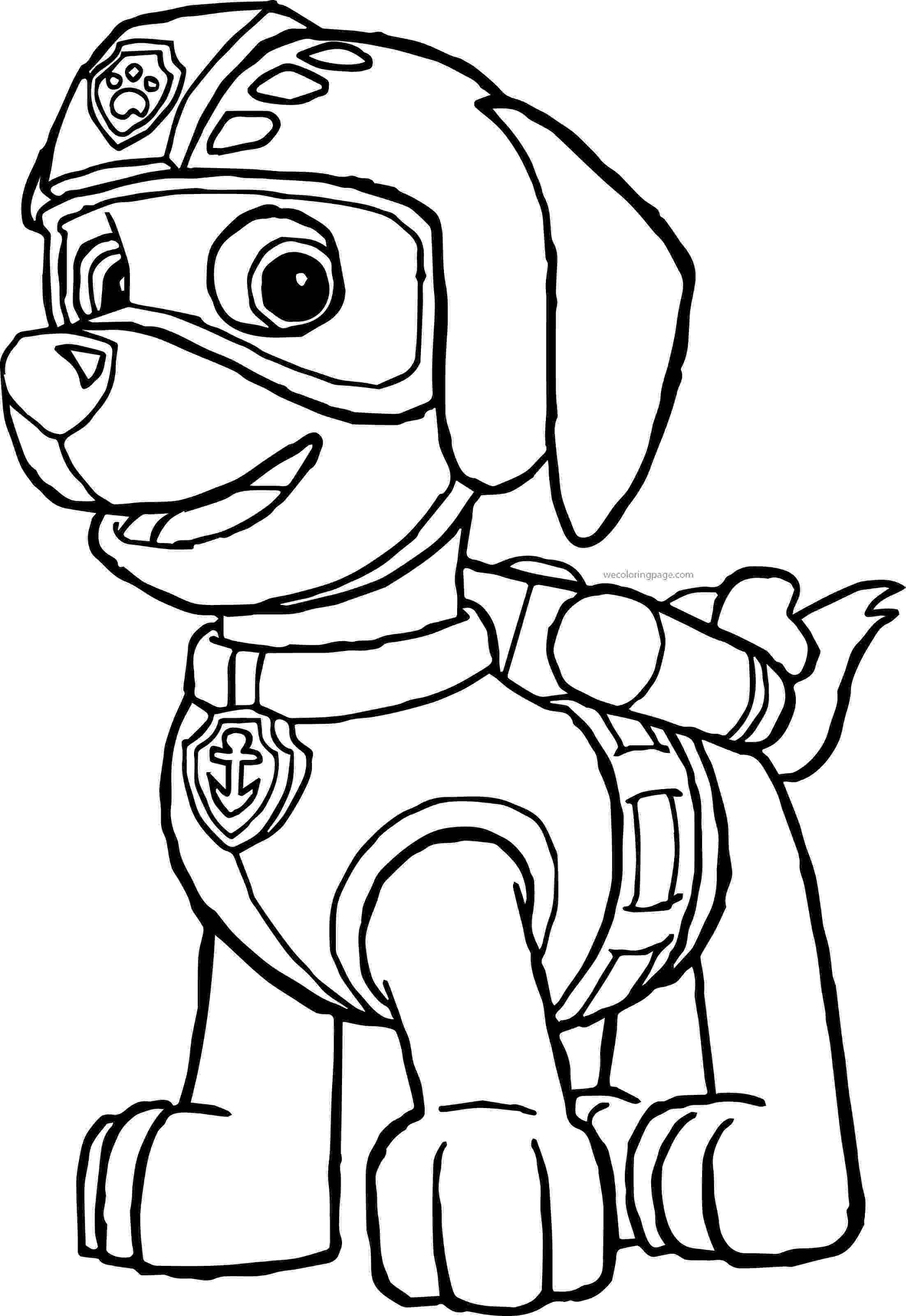 rocky from paw patrol paw patrol rubble and rocky coloring page free printable from paw rocky patrol