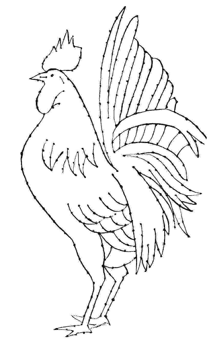 rooster sketch how to draw a rooster step by step drawing tutorials for rooster sketch