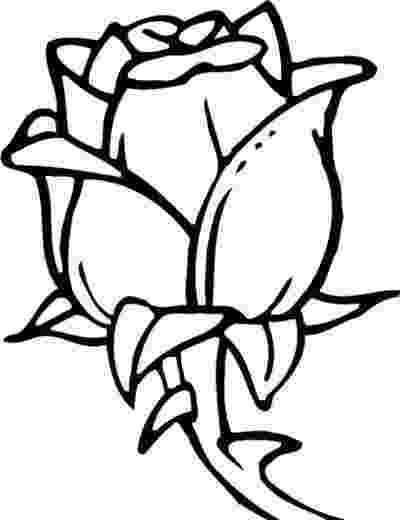 rose flower coloring pages beautiful flower coloring pages with delicate forms of rose pages flower coloring