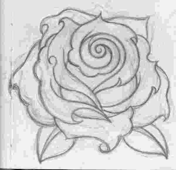 rose pictures to trace free line drawing of a rose download free clip art free rose to pictures trace