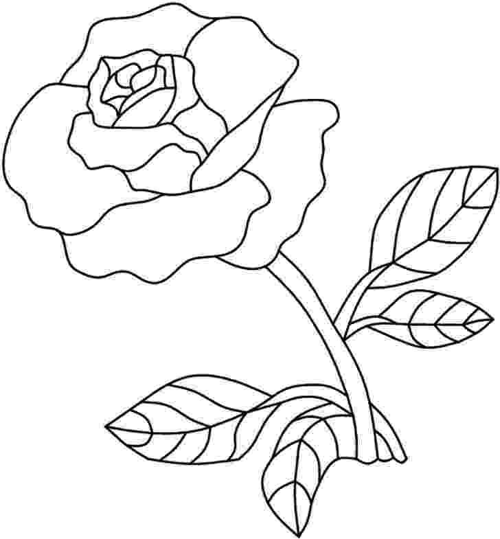 rose pictures to trace single rose stained glass pattern trace rose pictures to