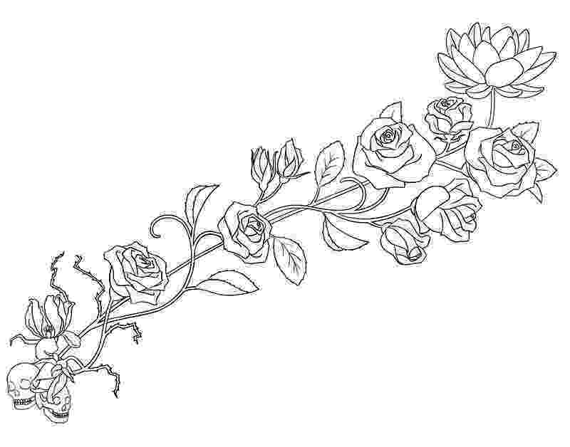 rose print out printable rose flower stencil roses stenc out print rose