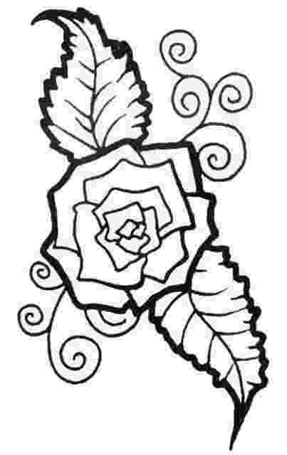 rose print out rose bush coloring pages at getcoloringscom free rose print out