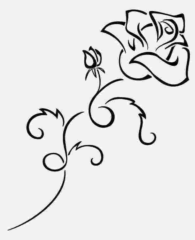 rose print out roses coloring pages getcoloringpagescom print out rose