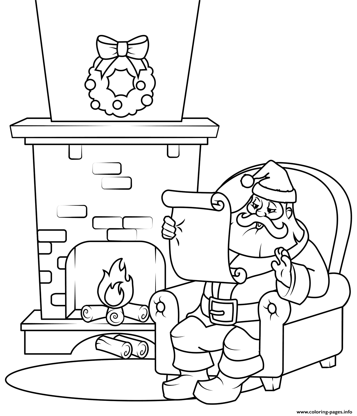 santa checking his list free santa list cliparts download free clip art free santa list his checking