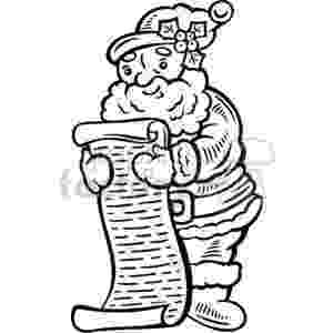 santa checking his list santa coloring pages best coloring pages for kids his list checking santa