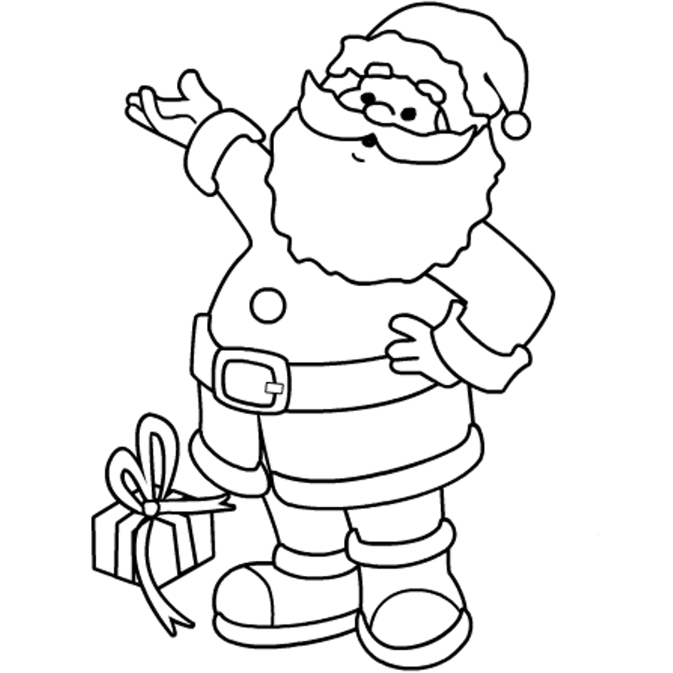santa claus images for colouring free christmas colouring pages for children kids online images claus colouring santa for