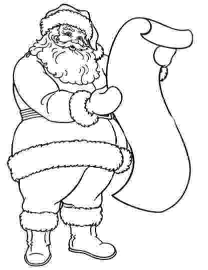 santa claus images for colouring free printable santa claus coloring pages for kids colouring santa claus images for