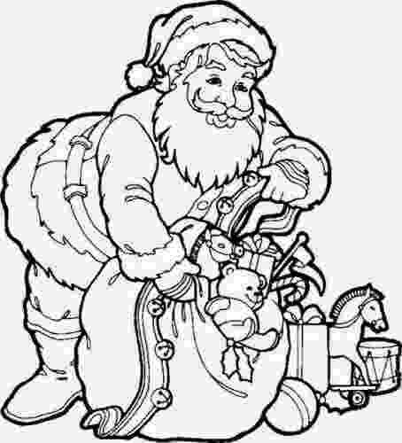 santa claus images for colouring santa claus coloring pages to download and print for free santa claus for images colouring